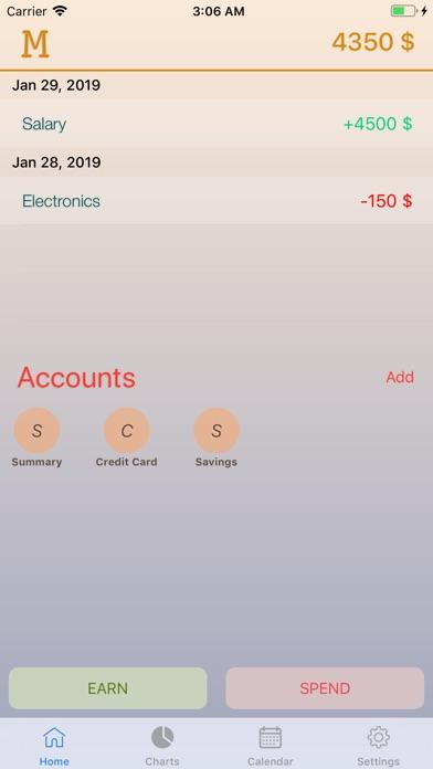 Money Box - Budget Management Screenshots