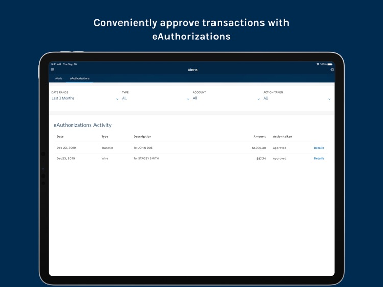Morgan Stanley Wealth – Tablet screenshot-5