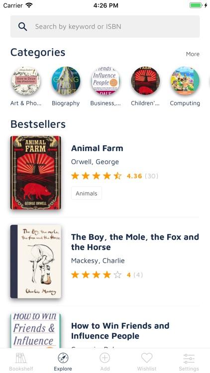 Bookshelf-Your virtual library screenshot-4