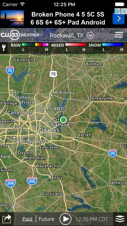 CW33 Dallas Texas Weather