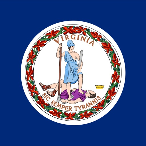 Virginia state - USA stickers