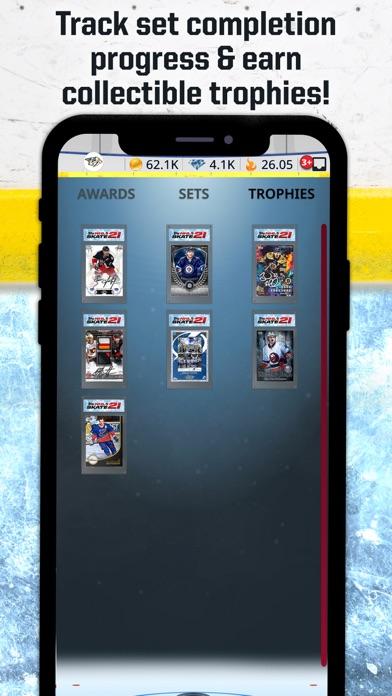 Topps® NHL SKATE™ Card Trader Screenshot