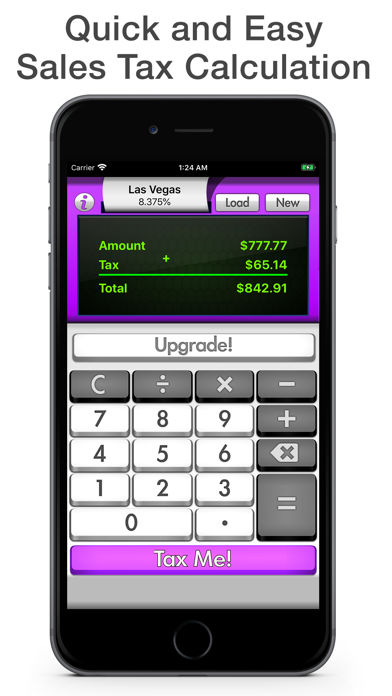 Sales Tax Calculator - Tax Me screenshot one