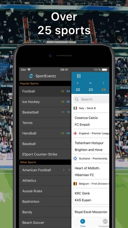 SportEventz - Live sport on TV screenshot-4
