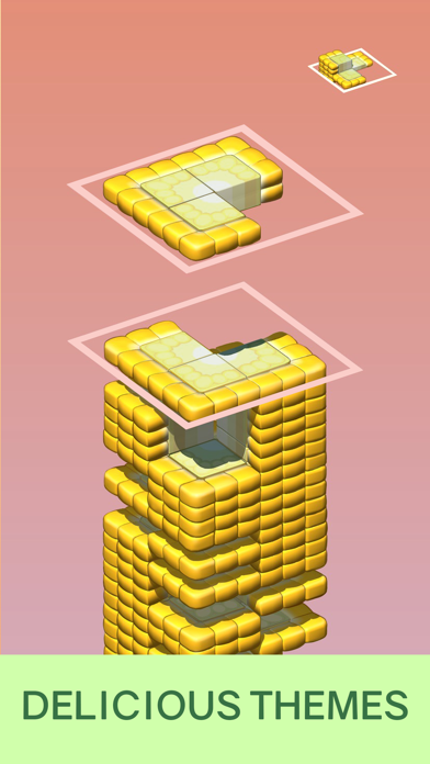 Juicy Stack - 3D Tile Puzzlеのおすすめ画像3