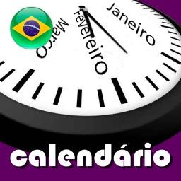 Calendário 2019 Brasil