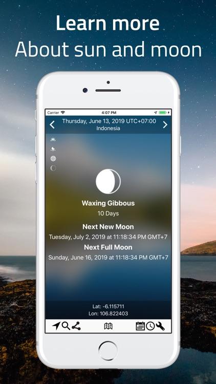 SunMap - Sun/Moon Toolkit screenshot-3
