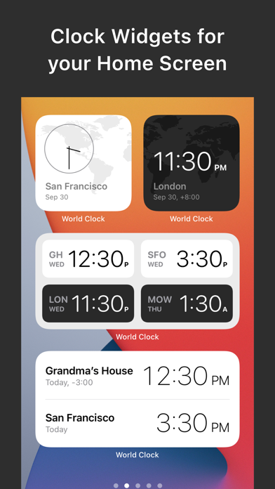 messages.download World Clock Widgets software