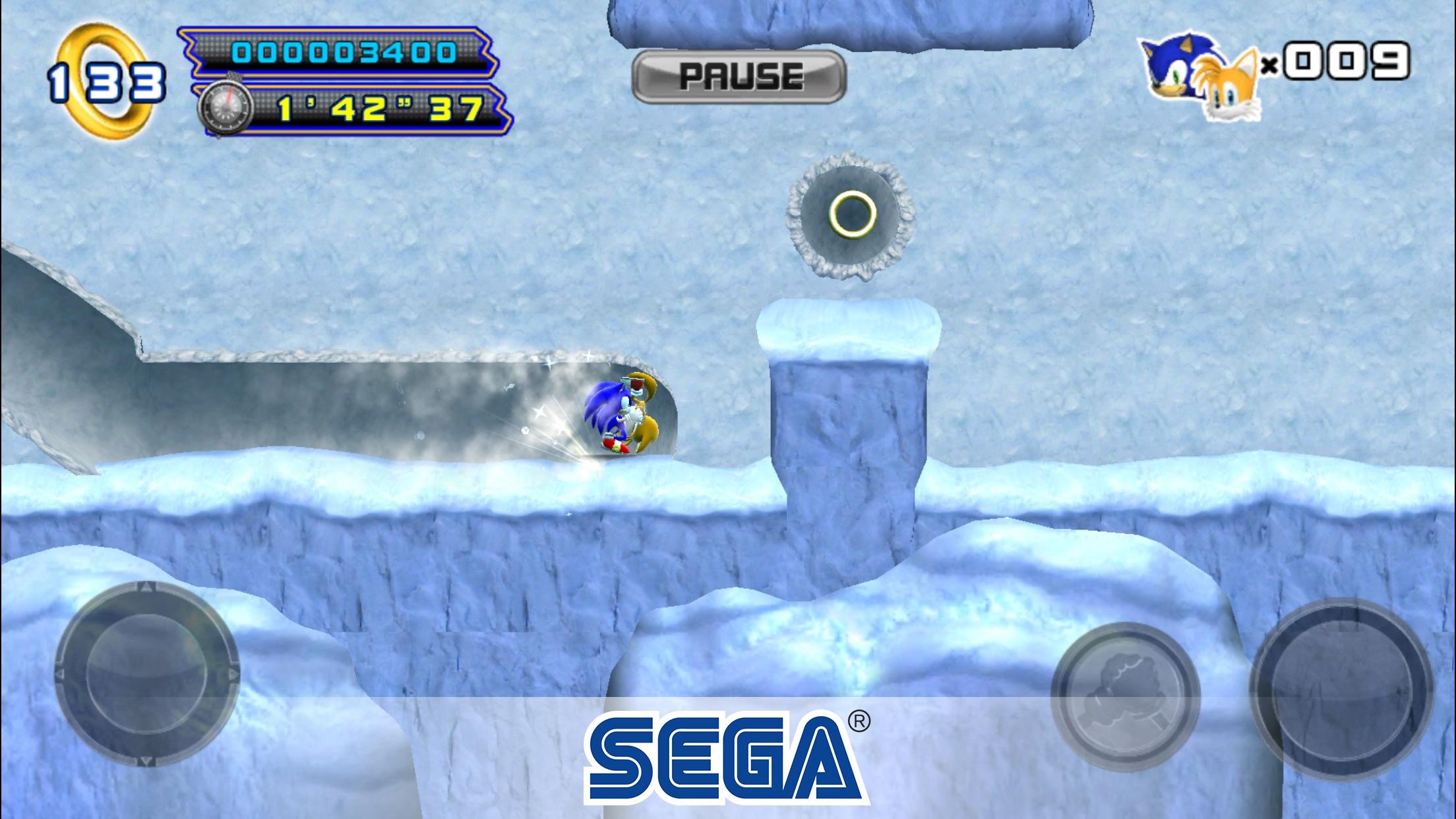 Screenshot do app Sonic The Hedgehog 4™ Ep. II