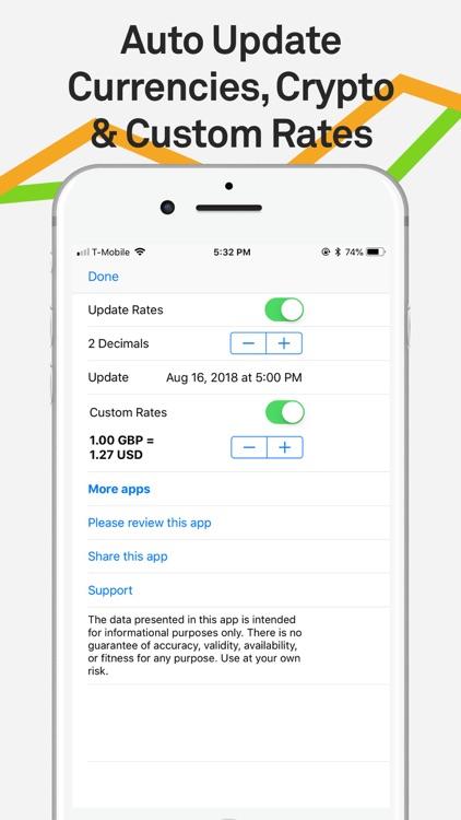 Currency Converter Pro XE $€£¥ screenshot-5
