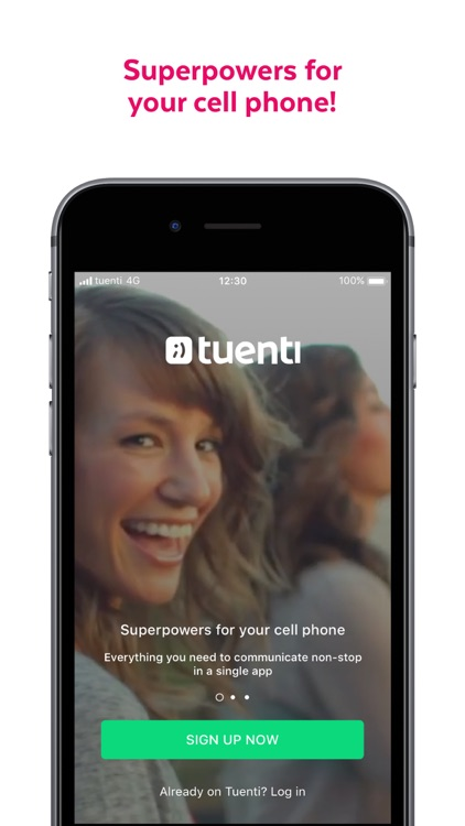 Tuenti: phone with superpowers