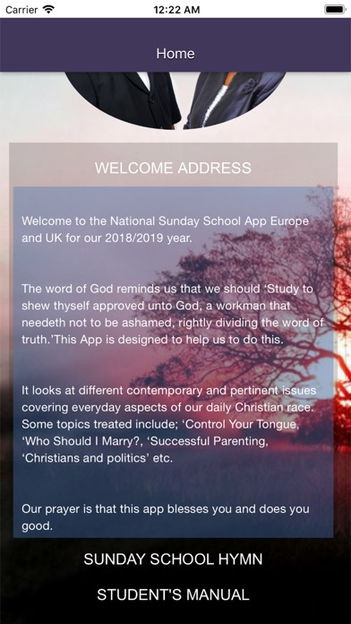 Screenshot for RCCG SSUK 2018 2019 STUDENT in Argentina App Store