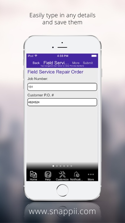 Field Service Repair Order screenshot-1
