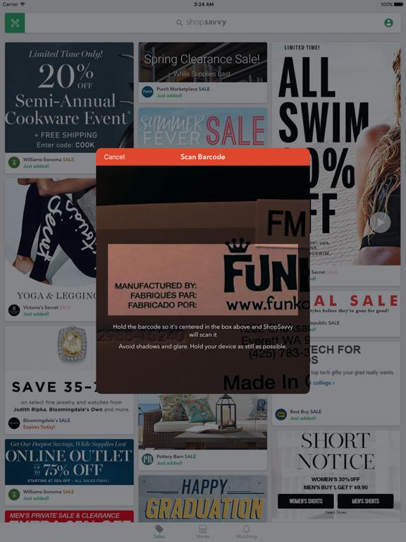 ShopSavvy - Scan Barcodes, Shop Sales, & Get Deals screenshot
