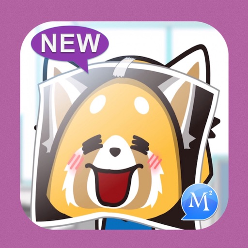 MomentSQ™ Aggretsuko Stickers