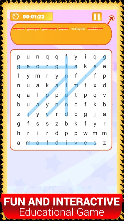 Learn Kids Word Search Games