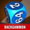 Hardwood Backgammon