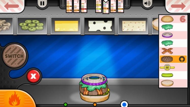 Papa's Burgeria To Go! screenshot-3