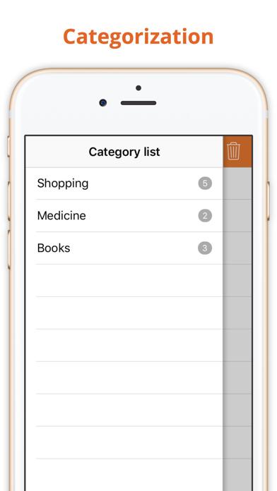 Incart: Simple grocery list screenshot three
