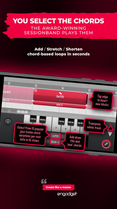 SessionBand Jazz Fusion screenshot 4