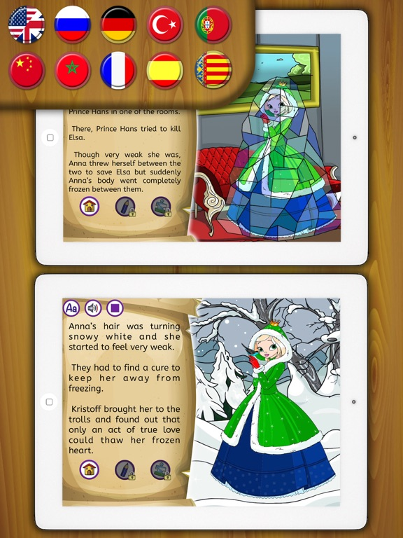 The Snow Queen Story Book | App Price Drops