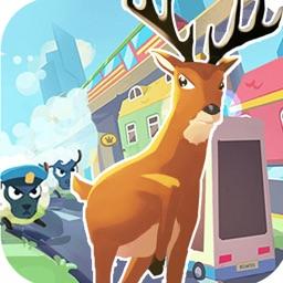 非常普通的鹿 - 沙雕鹿模拟器3D休闲游戏