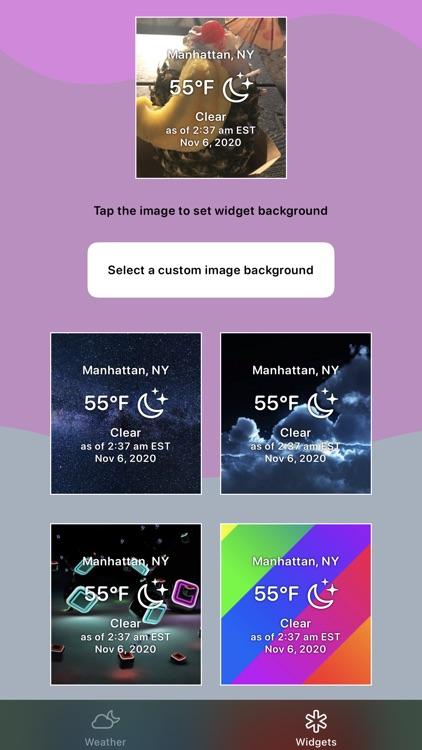 Drip - Weather Widget screenshot-0