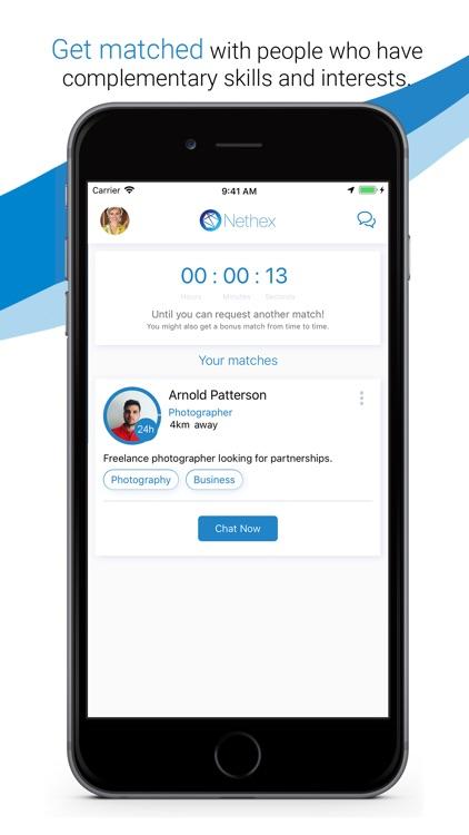 Nethex - Business networking screenshot-3