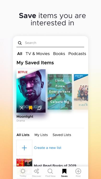 Likewise: Movie, TV, Book Recs screenshot-4