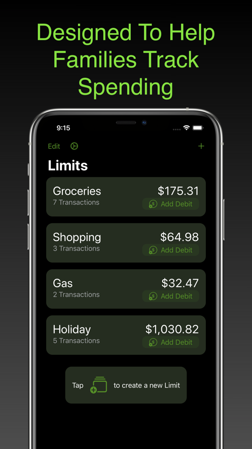 Limits by Money Master App 截图