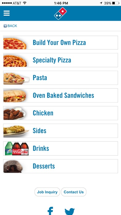 Screenshot for Domino's Pizza® in Lebanon App Store