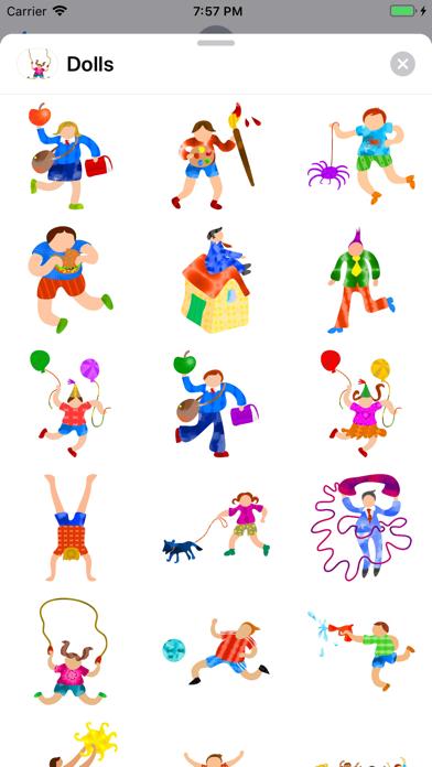 Whimsical Dolls screenshot one
