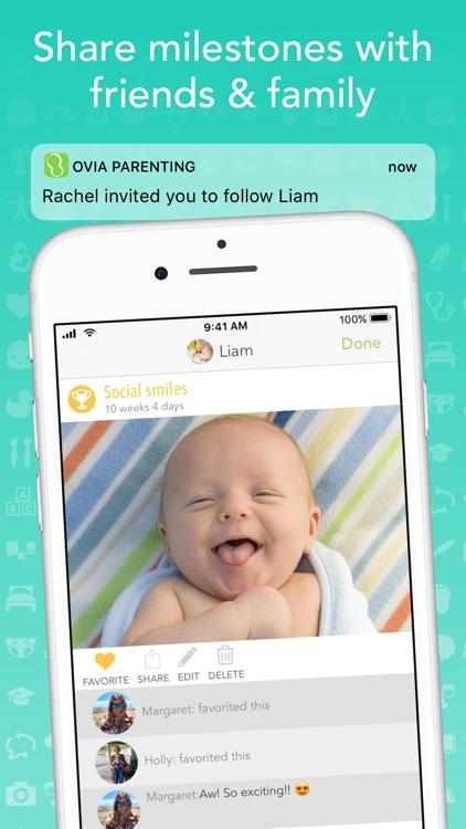 Ovia Parenting & Baby Log screenshot-4
