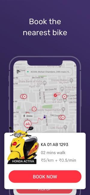 Bounce - Bike & Scooter Rental on the App Store