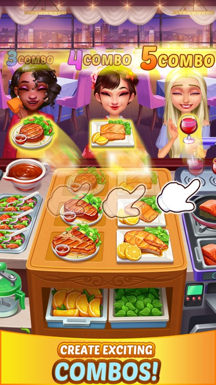 Crazy Chef Cooking Game screenshot-3