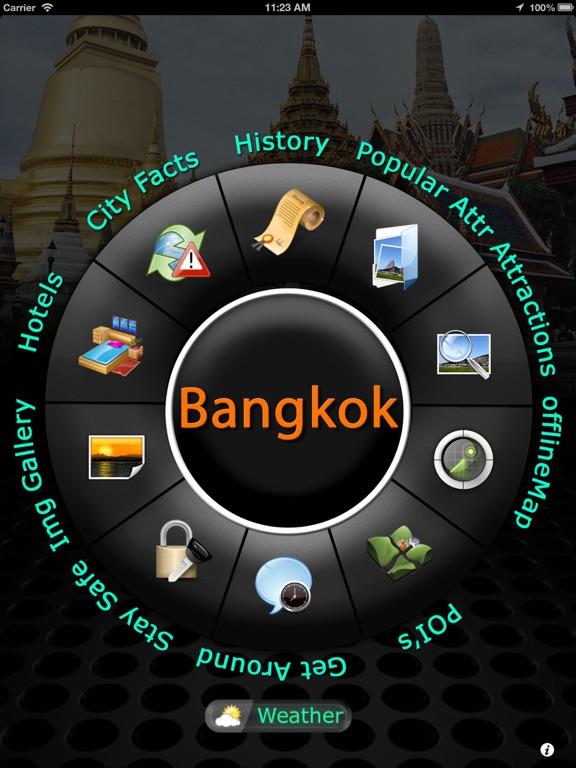 Bangkok Offline Map Travelのおすすめ画像1