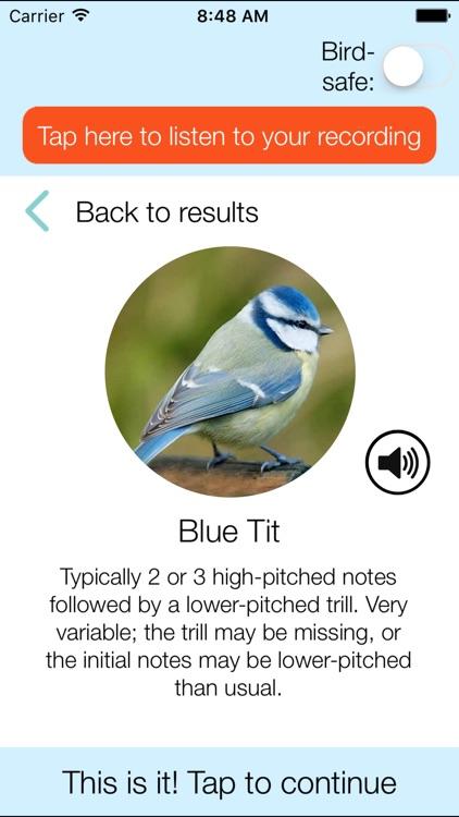 ChirpOMatic UK - Bird Song ID