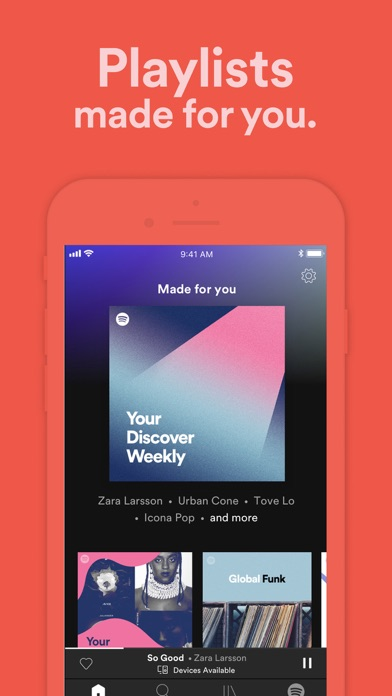 Spotify - Music and Podcasts Screenshot on iOS