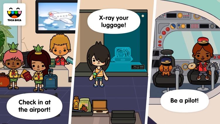 Toca Life: Vacation screenshot-3