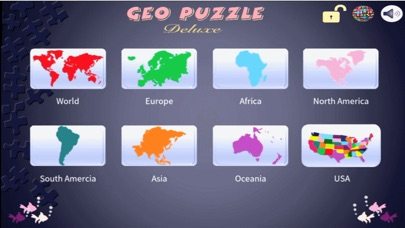 Screenshot for Geo Puzzle Deluxe in United States App Store