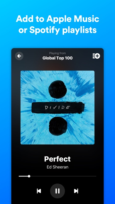 Screenshot for Shazam in Belgium App Store