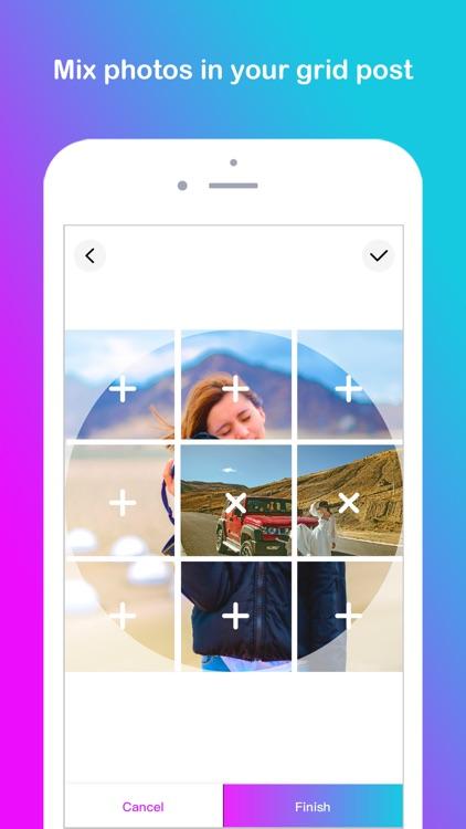 Grid Post Maker for Instagram screenshot-4