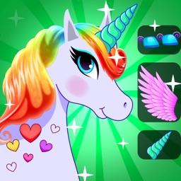 Queen fairy unicorn dress up