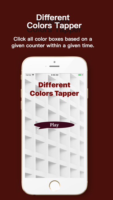 Different Colors Tapper