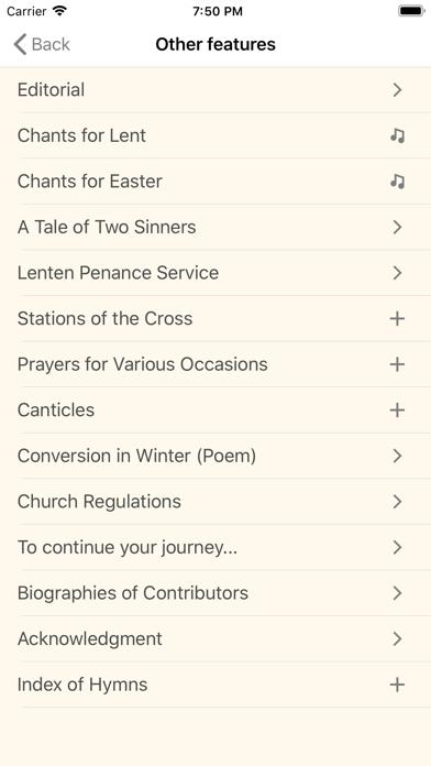 Lenten Magnificat 2020 Screenshot