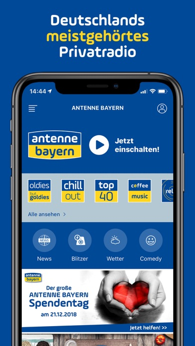 ANTENNE BAYERN screenshot one