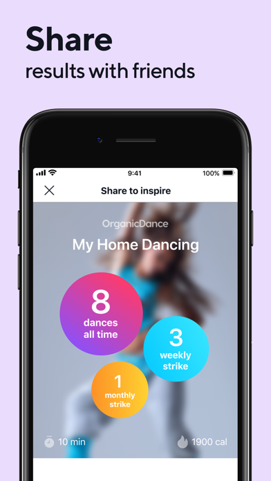 Organic Dance: Weight Loss Appのおすすめ画像9
