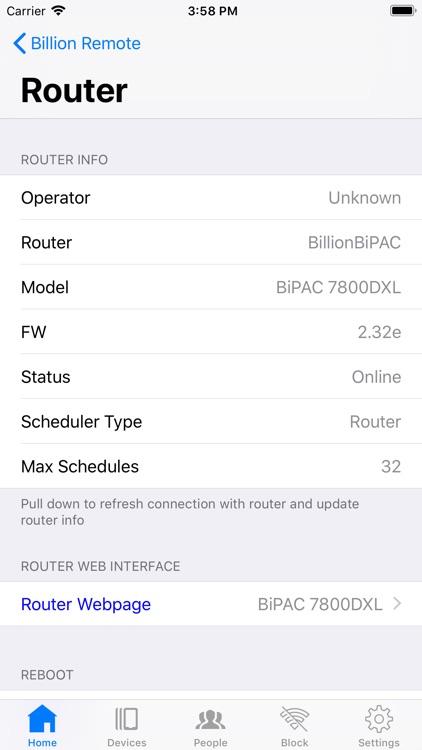 WiFi Billion Router App screenshot-6