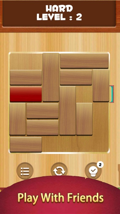 Unblock Wood Escape screenshot two