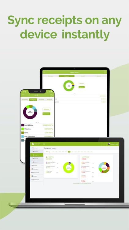 Foreceipt Receipt Tracker App screenshot-6